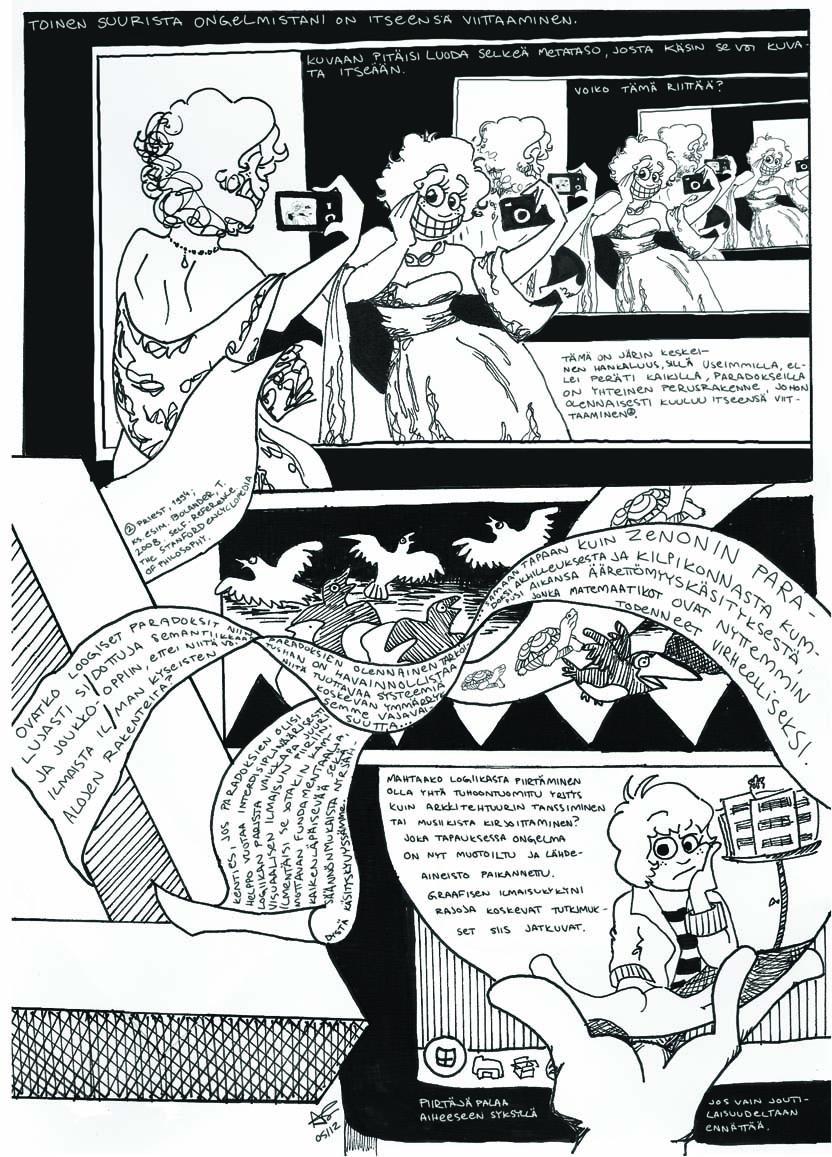 sarjakuvat comics cosmic customer service sarjakuvaessee minervan poumllloumloumln 2 2012 05 2012 graphic essay for minervan poumlllouml the